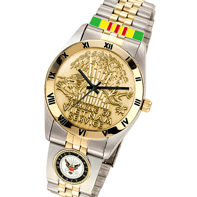 U S  Veterans Service Medal Watches | Vetcom com